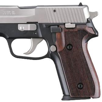 Hogue SIG Sauer P228, P229 Checkered Rosewood Grip