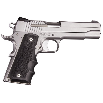 Hogue Colt Government Model Rubber Grip with Finger Grooves