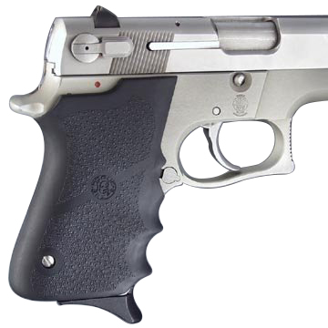 Hogue S&W 6906, Shorty 40, Rubber grip with Finger Grooves