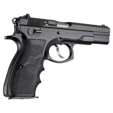 Hogue CZ-75, TZ-75, P-9 Rubber Wraparound with Finger Grooves
