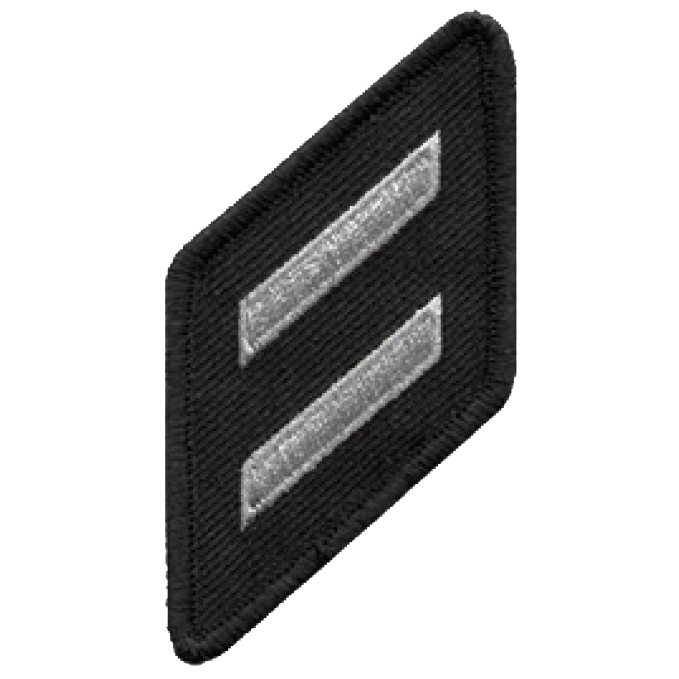 Hero's Pride Double Hash Marks with Merrowed Border