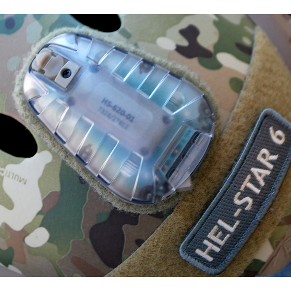 Core Survival HEL-STAR 6 640 Series Multi Function Helmet Mounted Light