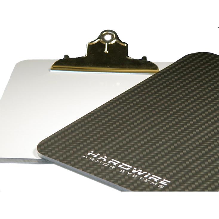 """Hardwire Ballistic Clipboard, NIJ Level IIIA, 10"""" x 13"""", 109"""