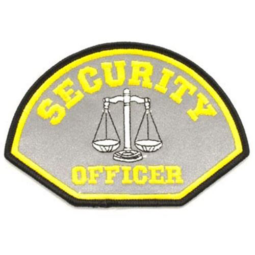 Security Officer Reflective Patch