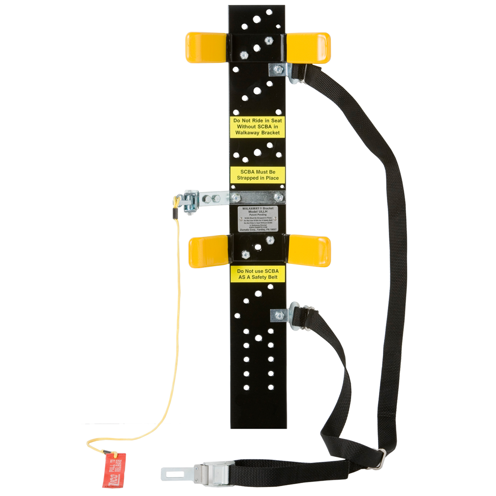 Zico 1054 Load & Lock Walkaway Bracket, Unassembled with Strap, No Footplate