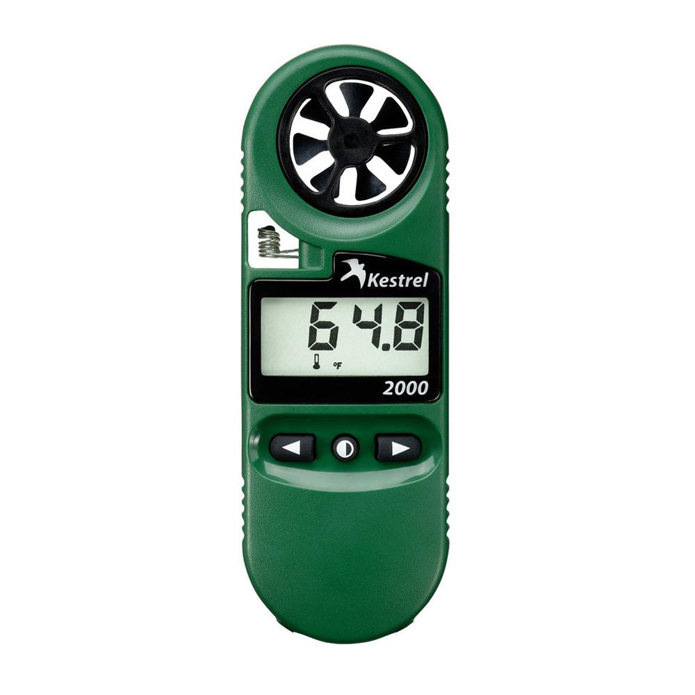 Kestrel 2000 Pocket Thermo Wind Meter, Green