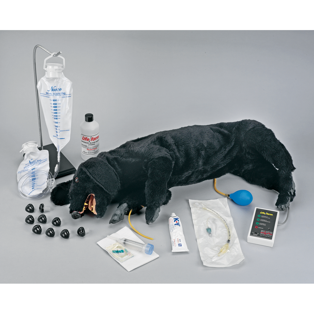 Life Form Life Form Basic Sanitary CPR Dog IV Capable