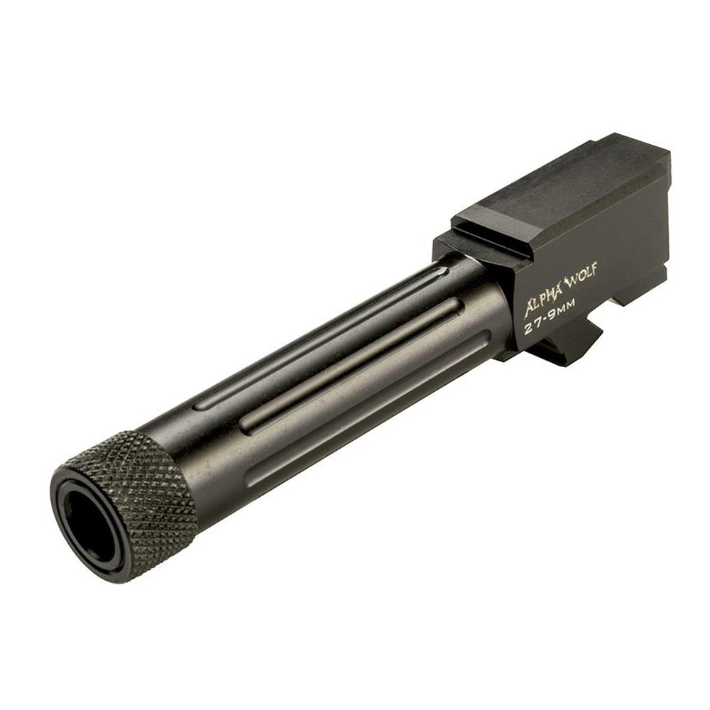 Long Wolf AlphaWolf Barrel For M/27&33 Conversion to 9mm Threaded 1/2 x 28