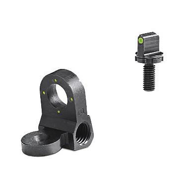 Meprolight Peep 4-Dot Rear Night Sight Set, Green, for AR-15, M-16A1 and Clones