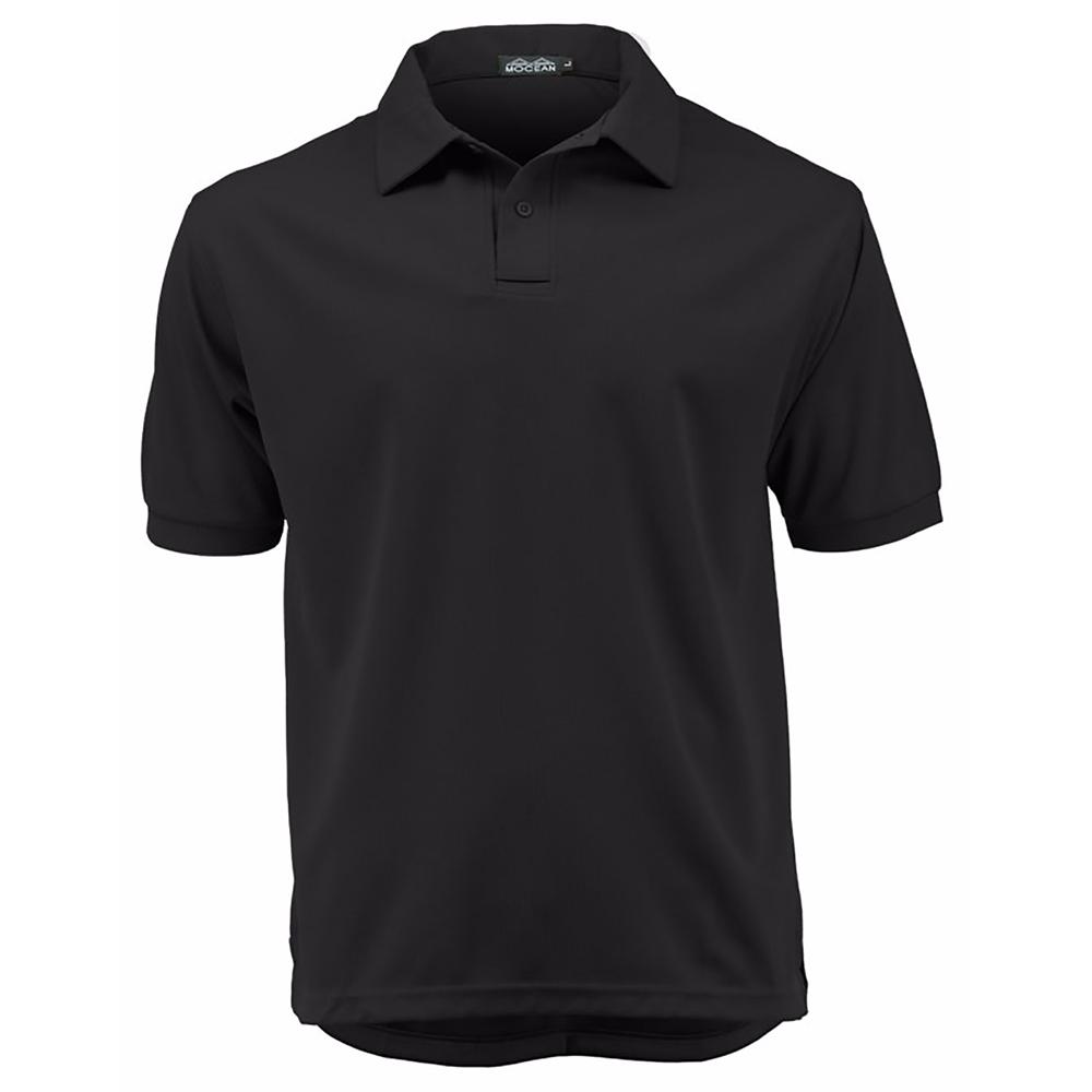 Mocean Vapor Pique Polo Shirts (with Epaulets)