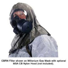 MSA Millennium CBRN Canisters for Homeland Security