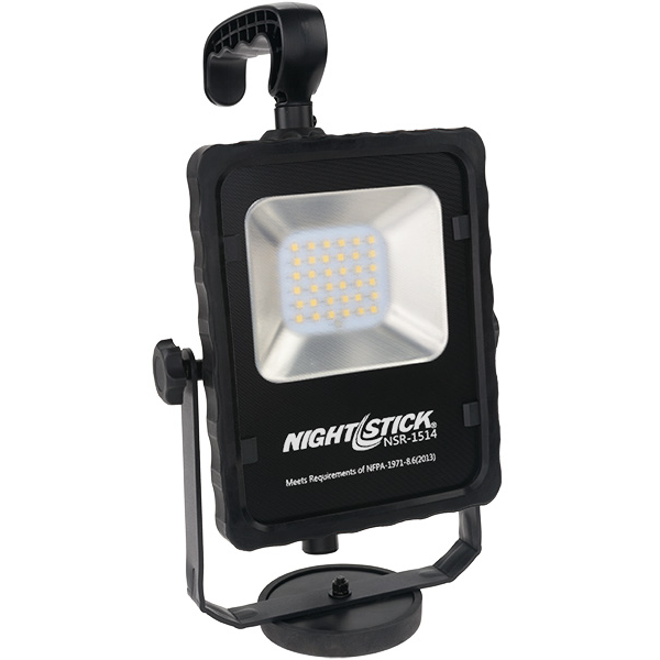 Nightstick Rechargeable LED Area Light w/ Magnetic Base, Tripod & Carrying Case
