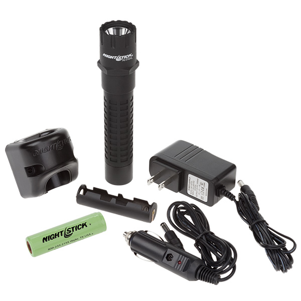 Nightstick Rechargeable Xtreme Lumens Polymer Multi-Function Tactical Flashlight, 800 Lumens, 6.25