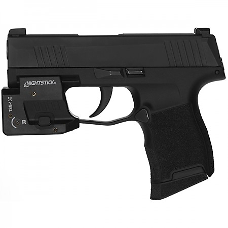 Nightstick Subcompact Weapon Light with Green Laser for Sig Sauer P365/XL/SAS