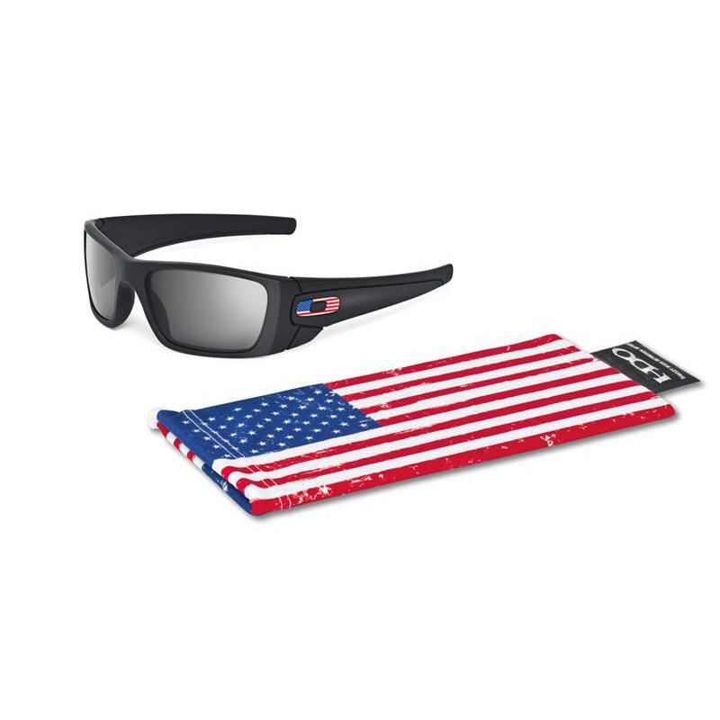Oakley SI Fuel Cell Sunglasses w/ US Flag Icon