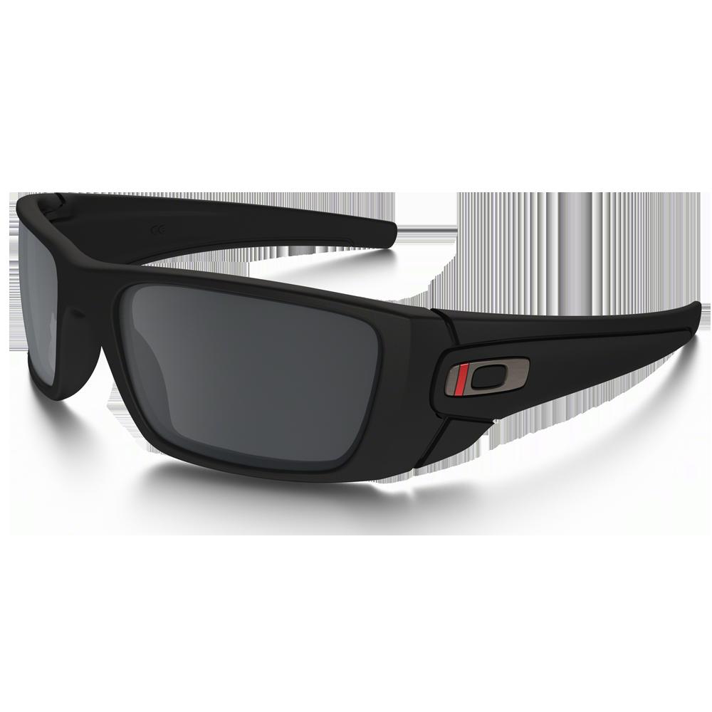 SI Fuel Cell Thin Red Line Satin Black Frames w/ Black Iridium Lenses