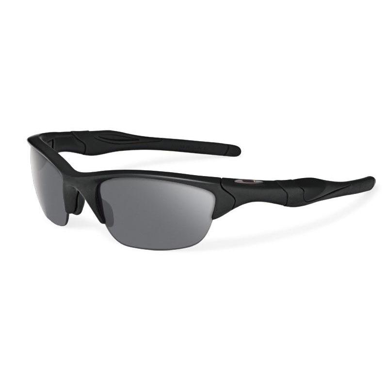 Oakley Standard Issue Half Jacket 2.0 Sunglasses, Matte Black/Grey
