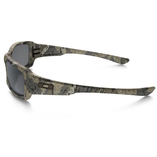 Oakley Fives Squared Desolve Bare w/Black Iridium Lenses