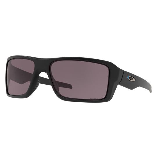Double Edge Thin Blue Line Sunglasses w/ Grey Lens