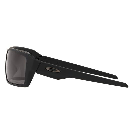 Oakley SI Double Edge Sunglasses, Matte Black Frames w/ Prizm™ Grey Polarized Lenses