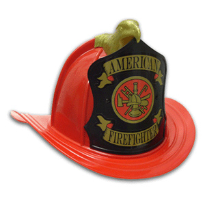 Old Fire Hat Replica w/ High Eagle & Front and Adjustable Suspension