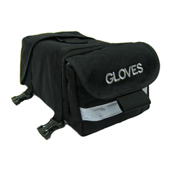 Coaxsher Fire Shelter Case with Glove Pocket