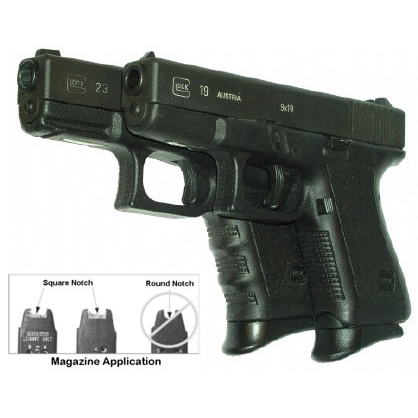 Pearce Grips GLOCK Mid and Full Size Model Grip Extension