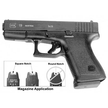 Pearce Grips Glock Gen 2/3 Compact Grip Enhancer