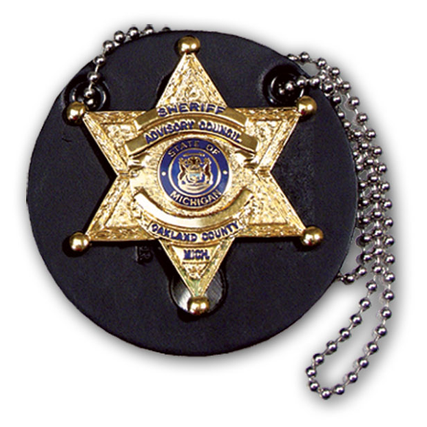 Perfect Fit Universal Badge Holder w/ Neck Chain