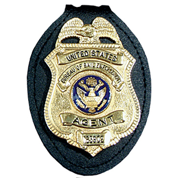 Perfect Fit Universal Badge Holder w/ Belt Clip