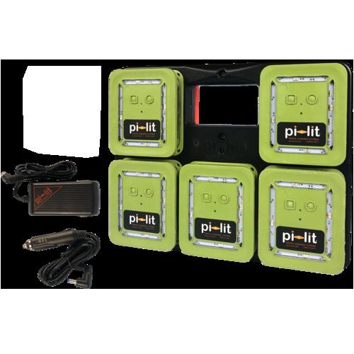 pi-lit Rechargeable Smart Med-Evac Landing Zone Kit