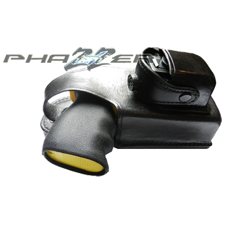 PhaZZer Enforcer® Leather Holster with Cartridge Pouch