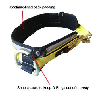 PacMule Ultra Quick Release Truckmans Belt