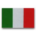 3 DECAL Italian Flag Reflective Decal