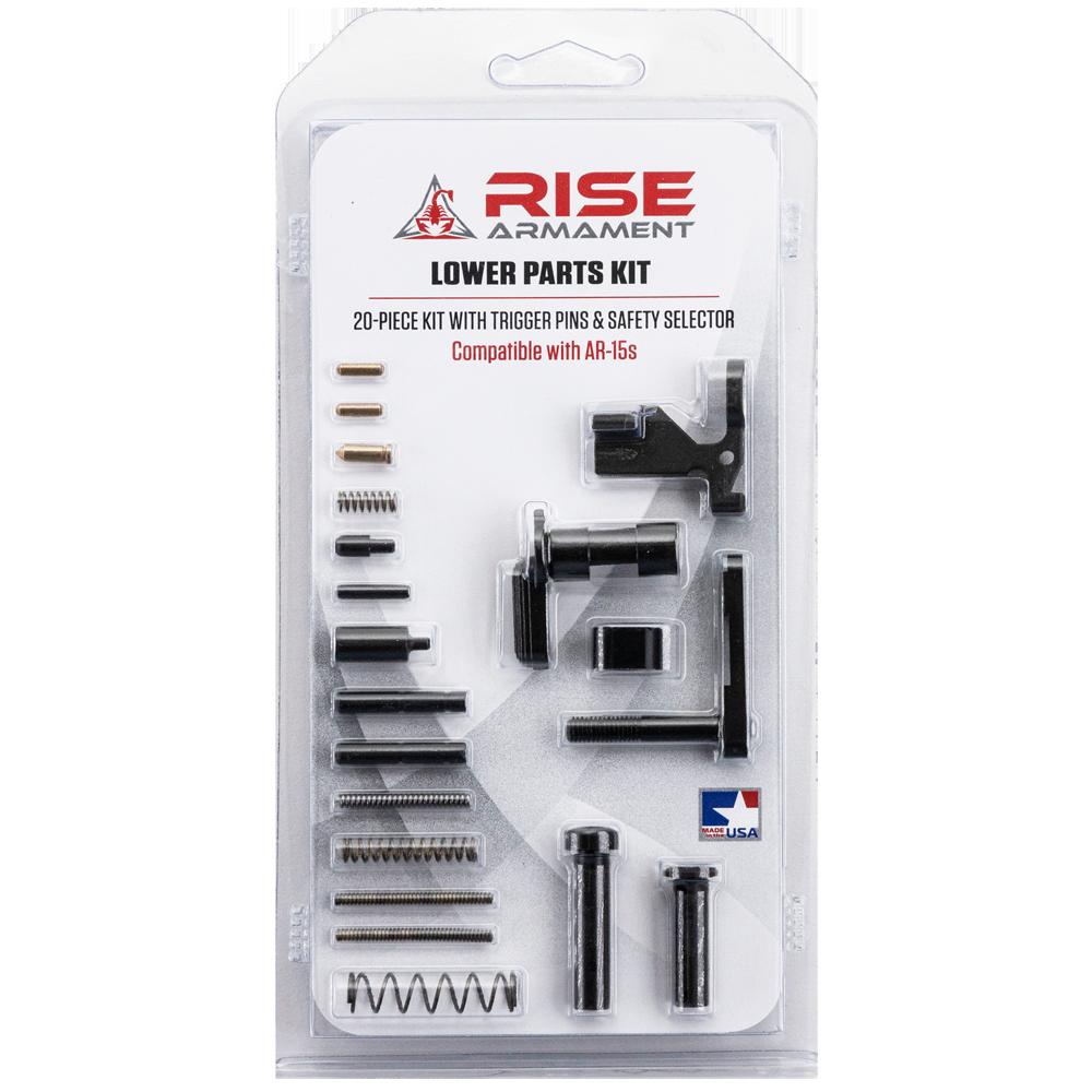 RISE Armament 20-piece AR-15 Lower Parts Kit