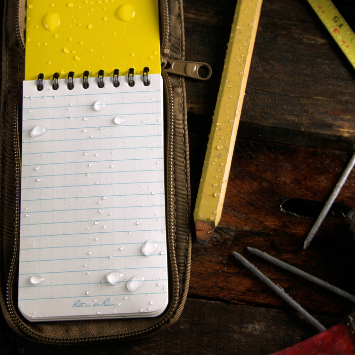Rite in the Rain All-Weather Pocket Notebooks, Top Spiral Bound