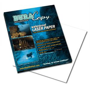 Rite in the Rain DuraCopy Waterproof Copier/Laser Paper, 8-1/2 x 11