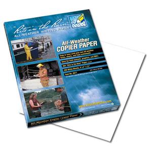 "Rite in the Rain All-Weather Waterproof Copier Paper, 8- 1/2 x 11"""