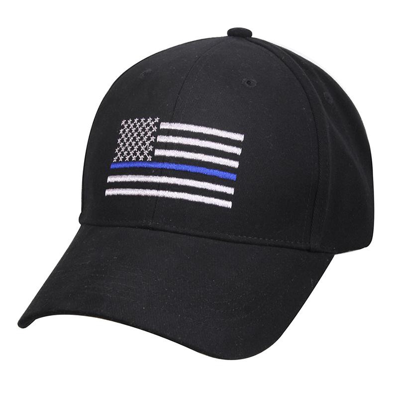 Rothco Thin Blue Line Flag Hat