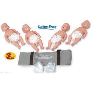 Simulaids 2124 - Sani-Baby CPR Manikin 4 Pack