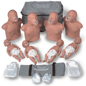Simulaids 2151 CPR Instructor's Economy Starter Pack