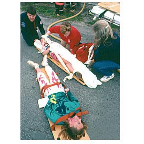 Simulaids 815 Basic Casualty Simulation Kit