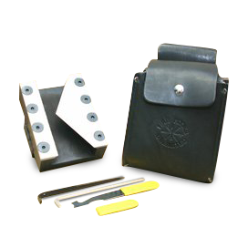 Fire Hooks Unlimited R-Tool Kit, w/ Leather Carrying Pouch
