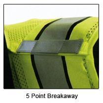 Spiewak Police Safety Vest, Hi-Vis Yellow, Black Trim, Lettering