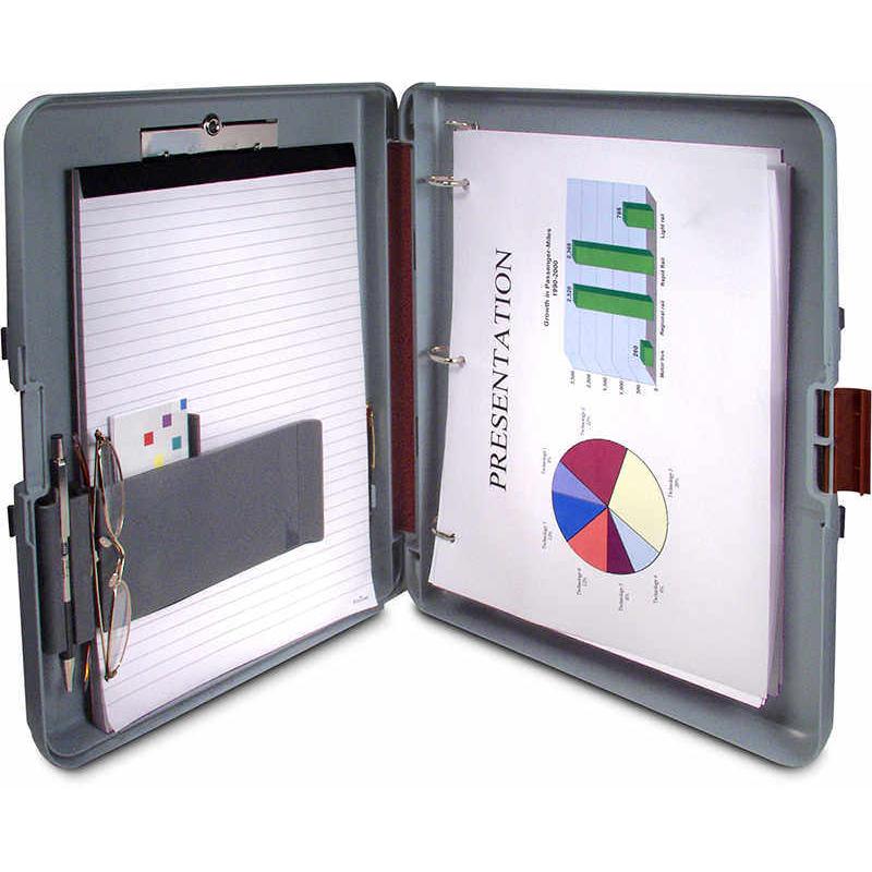 Saunders RingMate Clipboard/Storage/Presentation Case