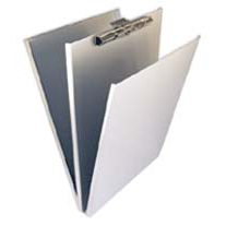 Saunders Aluminum A-Holder w/Top Opening Clipboard