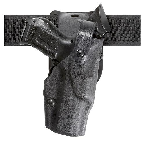 Safariland Model 6365 ALS Level II+ Retention, Belt Drop Duty Holster, Hood Guard