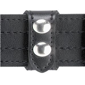 Safariland Model 63 SAFARI-LAMINATE Belt Keeper, Slotted, 2 Snaps