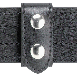 Safariland Model 655 SAFARI-LAMINATE Heavy Duty Belt Keeper, 2 Chrome Snaps