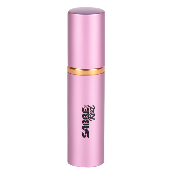 Sabre Red Concealable Pink Lipstick Maximum Strength Pepper Spray, .75 oz